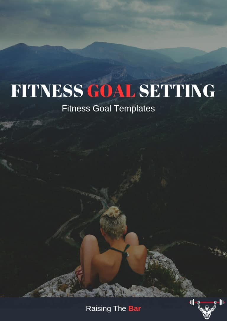 Raising the bar fitness goal setting pdf cover